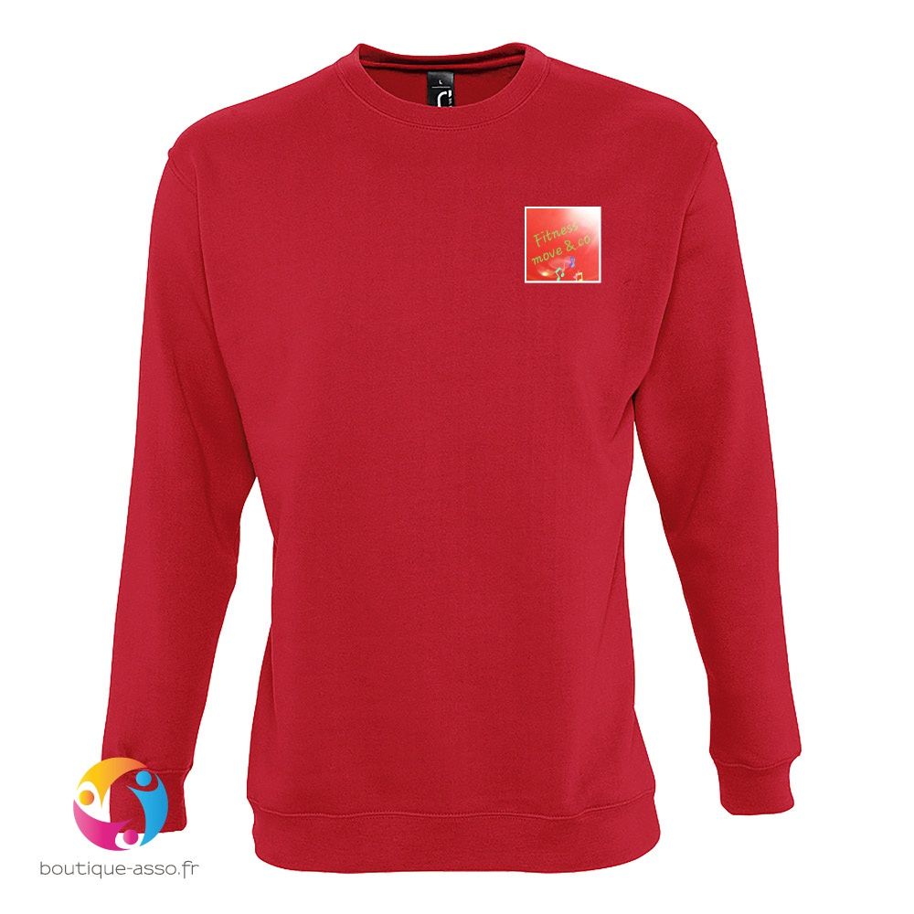 SWEAT-SHIRT UNISEXE COL ROND